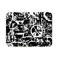Steampunk Bw Double Sided Flano Blanket (Mini)