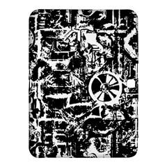 Steampunk Bw Samsung Galaxy Tab 4 (10.1 ) Hardshell Case