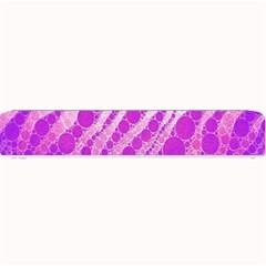 Florescent Pink Zebra Pattern  Small Bar Mats