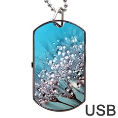 Dandelion 2015 0702 Dog Tag USB Flash (One Side)