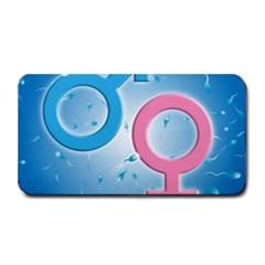 Sperm and Gender Symbols  Medium Bar Mats
