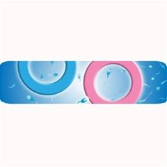 Sperm And Gender Symbols  Large Bar Mats