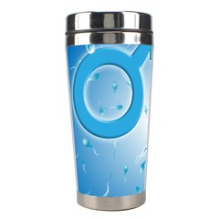 Sperm And Gender Symbols  Stainless Steel Travel Tumblers