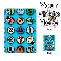 Emotion Pills Playing Cards 54 Designs
