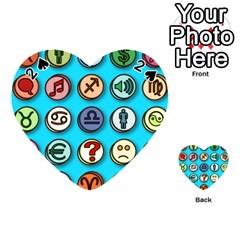 Emotion Pills Playing Cards 54 (Heart)