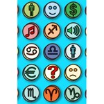 Emotion Pills 5.5  x 8.5  Notebooks Back Cover