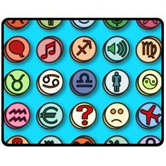 Emotion Pills Fleece Blanket (Medium)