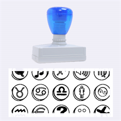 Emotion Pills Rubber Stamps (large)