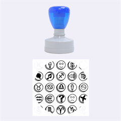 Emotion Pills Rubber Round Stamps (medium)