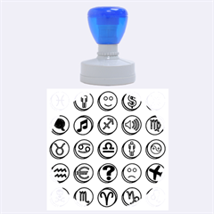 Emotion Pills Rubber Round Stamps (Large)