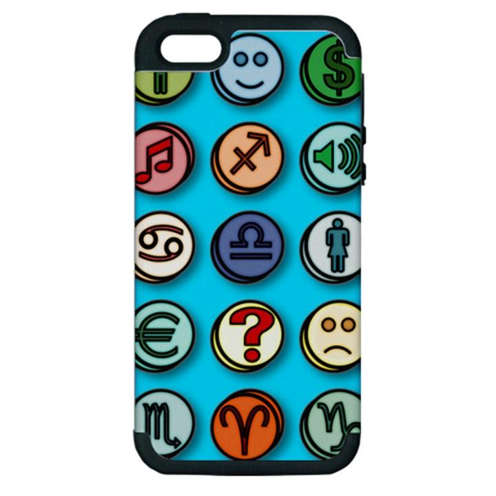 Emotion Pills Apple iPhone 5 Hardshell Case (PC+Silicone)