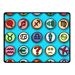 Emotion Pills Double Sided Fleece Blanket (small)