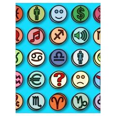 Emotion Pills Drawstring Bag (Large)