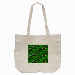 Dna Pattern Tote Bag (cream)