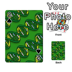 DNA Pattern Playing Cards 54 Designs