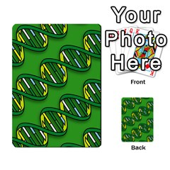 DNA Pattern Multi-purpose Cards (Rectangle)