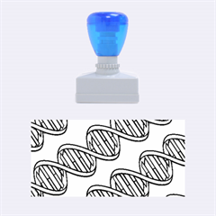 DNA Pattern Rubber Stamps (Medium)
