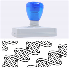 DNA Pattern Rubber Address Stamps (XL)