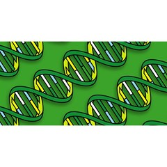 DNA Pattern YOU ARE INVITED 3D Greeting Card (8x4)