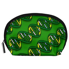 Dna Pattern Accessory Pouches (large)