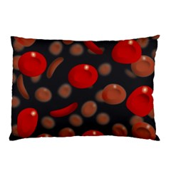 Blood Cells Pillow Cases (Two Sides)