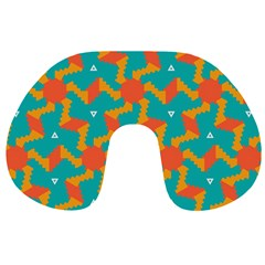 Sun Pattern Travel Neck Pillow