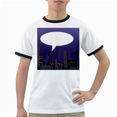 City Speech  Ringer T-Shirts