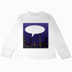 City Speech  Kids Long Sleeve T-Shirts