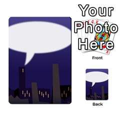 City Speech  Multi Purpose Cards (rectangle)