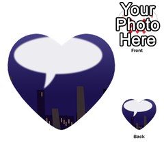City Speech  Multi-purpose Cards (Heart)