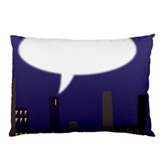 City Speech  Pillow Cases (Two Sides)
