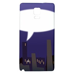 City Speech  Galaxy Note 4 Back Case
