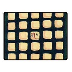 Crowd  Double Sided Fleece Blanket (Small)