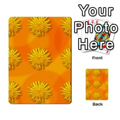 Dandelion Pattern Multi-purpose Cards (Rectangle)