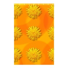 Dandelion Pattern Shower Curtain 48  x 72  (Small)