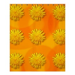 Dandelion Pattern Shower Curtain 60  x 72  (Medium)