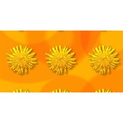 Dandelion Pattern You Are Invited 3d Greeting Card (8x4)