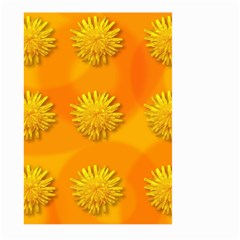 Dandelion Pattern Large Garden Flag (Two Sides)