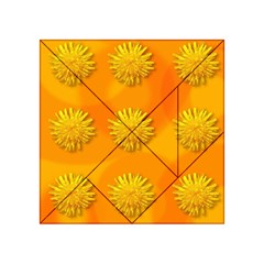Dandelion Pattern Acrylic Tangram Puzzle (4  x 4 )