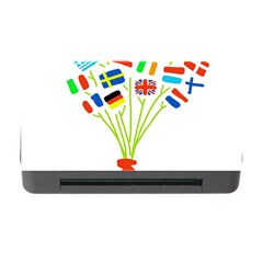 Flag Bouquet Memory Card Reader With Cf