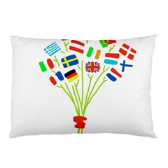 Flag Bouquet Pillow Cases (Two Sides)