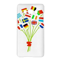 Flag Bouquet Samsung Galaxy A5 Hardshell Case