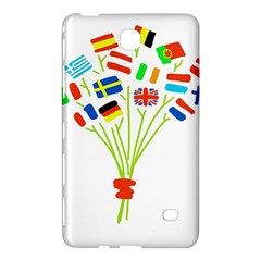 Flag Bouquet Samsung Galaxy Tab 4 (8 ) Hardshell Case
