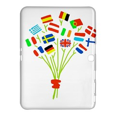 Flag Bouquet Samsung Galaxy Tab 4 (10.1 ) Hardshell Case