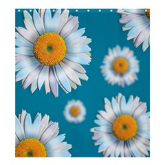 Floating Daisies Shower Curtain 66  x 72  (Large)