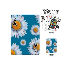 Floating Daisies Playing Cards 54 (mini)