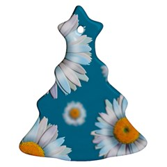 Floating Daisies Ornament (Christmas Tree)