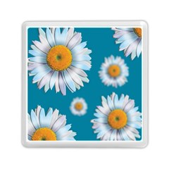 Floating Daisies Memory Card Reader (Square)
