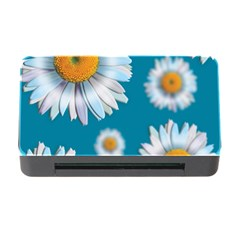 Floating Daisies Memory Card Reader with CF