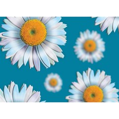 Floating Daisies Birthday Cake 3D Greeting Card (7x5)